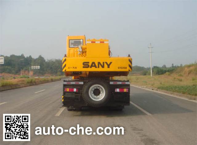 Sany SYM5304JQZ (STC250) truck crane