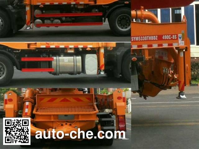 三一牌SYM5330THBDZ混凝土泵车