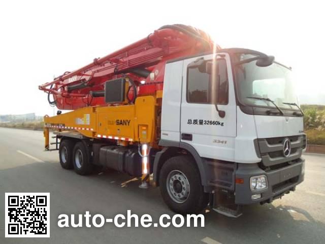 Sany SYM5332THB concrete pump truck