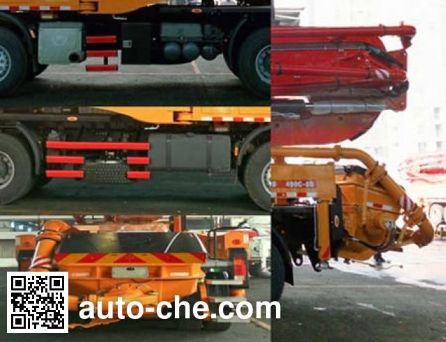 Sany SYM5360THBDB concrete pump truck
