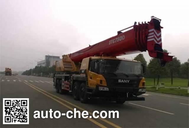 Sany SYM5444JQZ(STC750D) truck crane