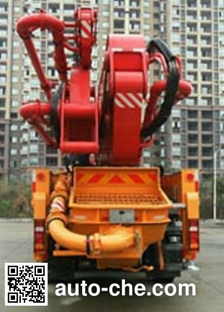 Sany SYM5491THBDZ concrete pump truck