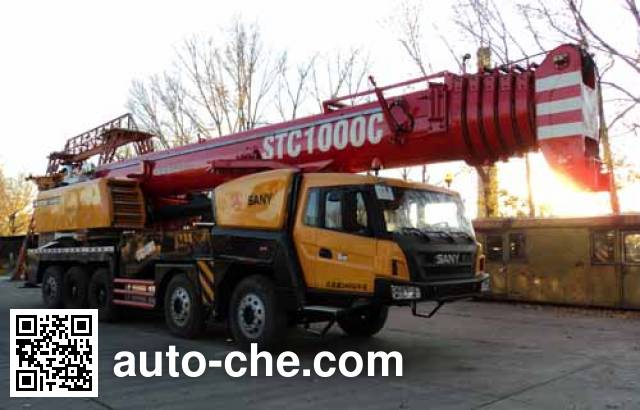 Sany SYM5553JQZ (STC1000C) truck crane