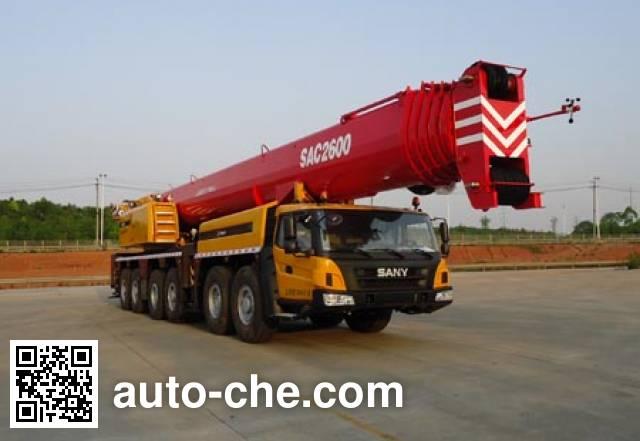 Sany SYM5722JQZ(SAC2600) all terrain mobile crane