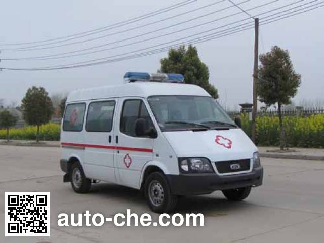 炎帝牌SZD5037XJHJQ救护车