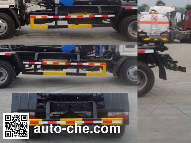 炎帝牌SZD5040ZXX5车厢可卸式垃圾车