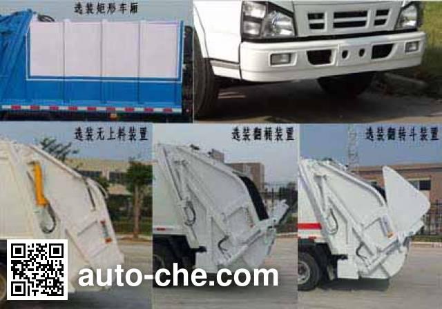 Yandi SZD5070ZYSQ4 garbage compactor truck