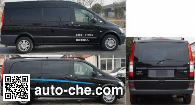 Zhongyi (Jiangsu) SZY5033XSW business bus