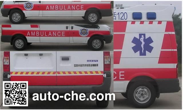 Zhongyi (Jiangsu) SZY5038XJH3 ambulance