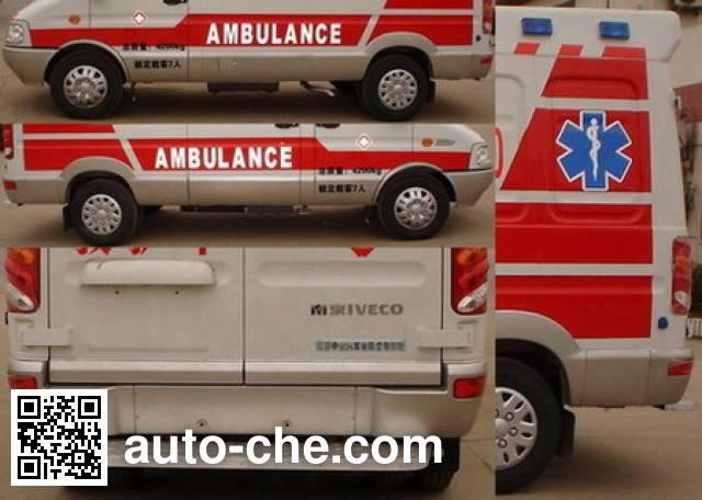 Zhongyi (Jiangsu) SZY5042XJHN6 автомобиль скорой медицинской помощи