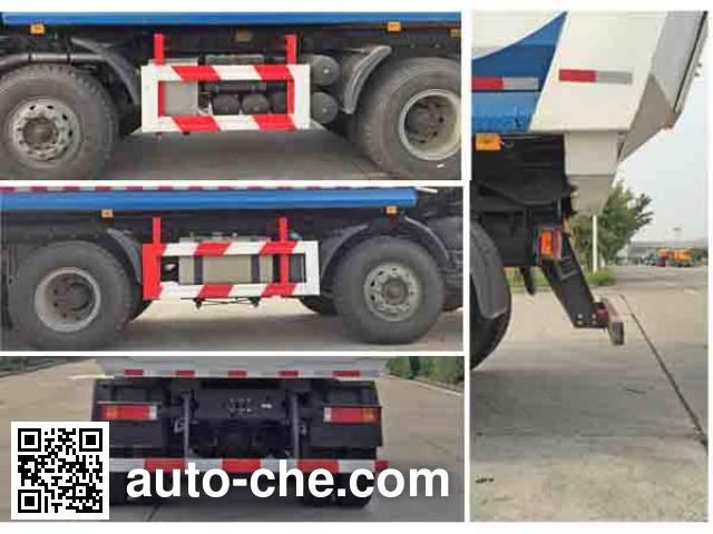 Dezun SZZ5316TSGHR406 fracturing sand dump truck