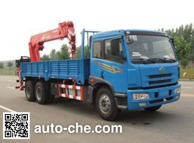 Dongyue Taiqi TA5252JSQ truck mounted loader crane