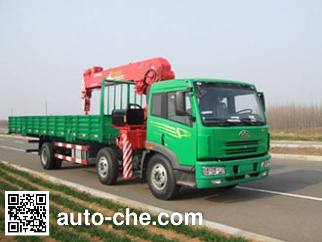 Dongyue Taiqi TA5254JSQ truck mounted loader crane