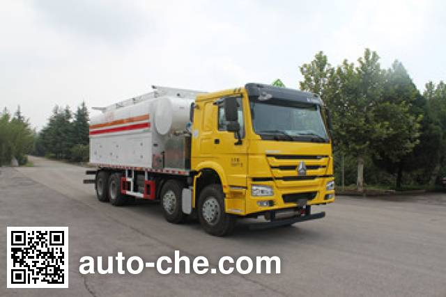 Daiyang TAG5310THZ ammonuim nitrate and fuel oil (ANFO) on-site mixing heavy truck