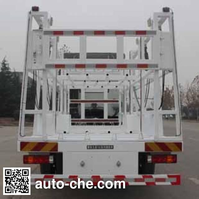 Wuyue TAZ5164TYCA pipe transport truck
