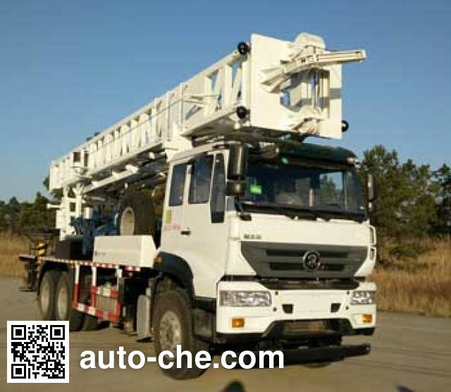 Wuyue TAZ5275TZJ drilling rig vehicle