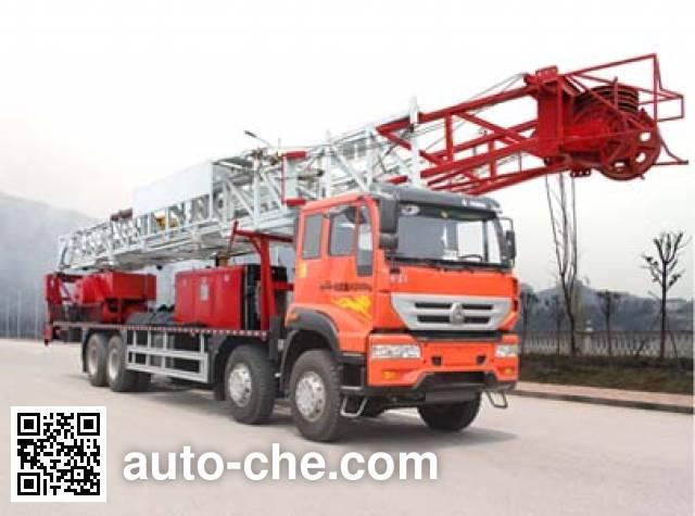 Wuyue TAZ5414TXJ well-workover rig truck