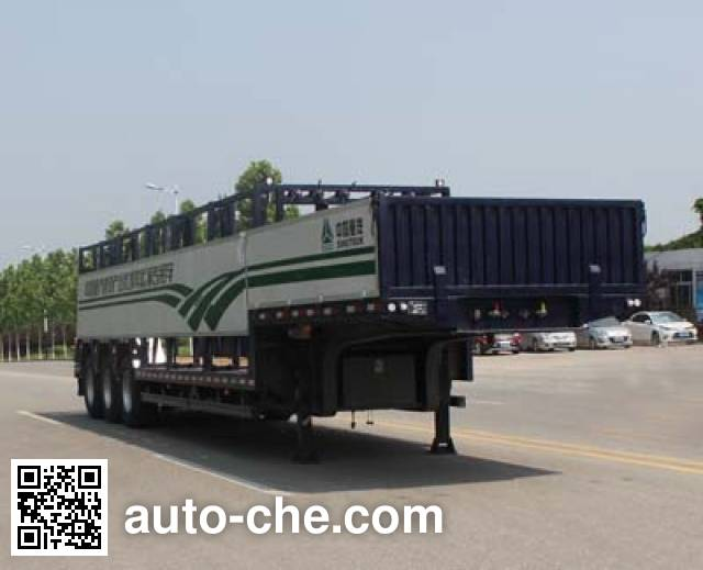 Wuyue TAZ9404TYC timber/pipe transport trailer