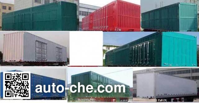 Tongqin TDG9400XXY box body van trailer