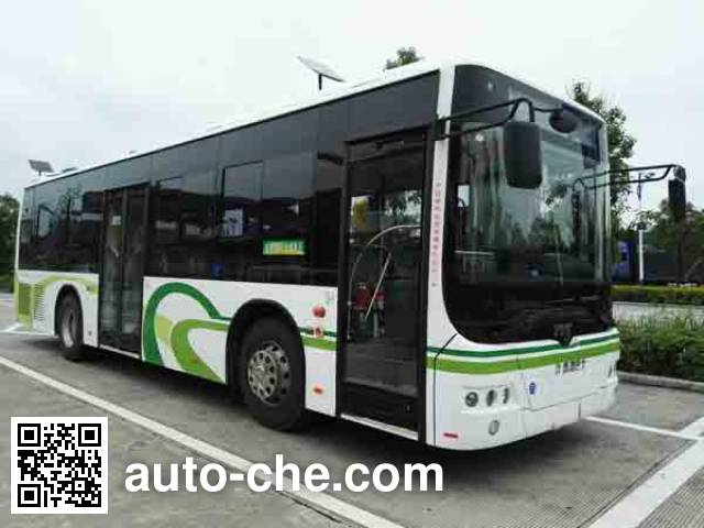 南车时代牌TEG6106EHEV10混合动力城市客车