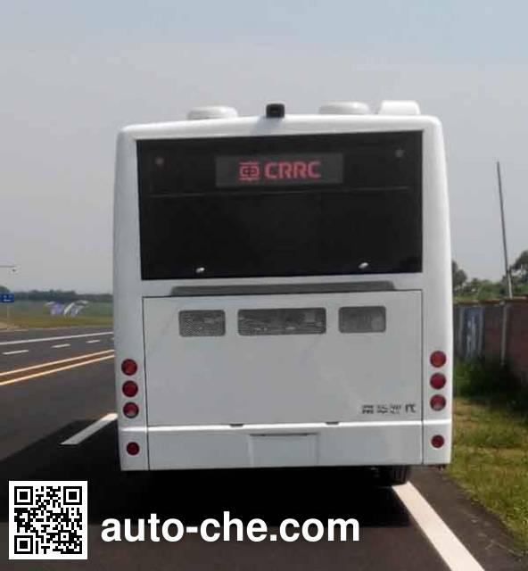 南车时代牌TEG6110EHEV02混合动力城市客车