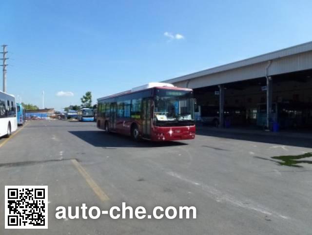 南车时代牌TEG6129EHEV03混合动力城市客车