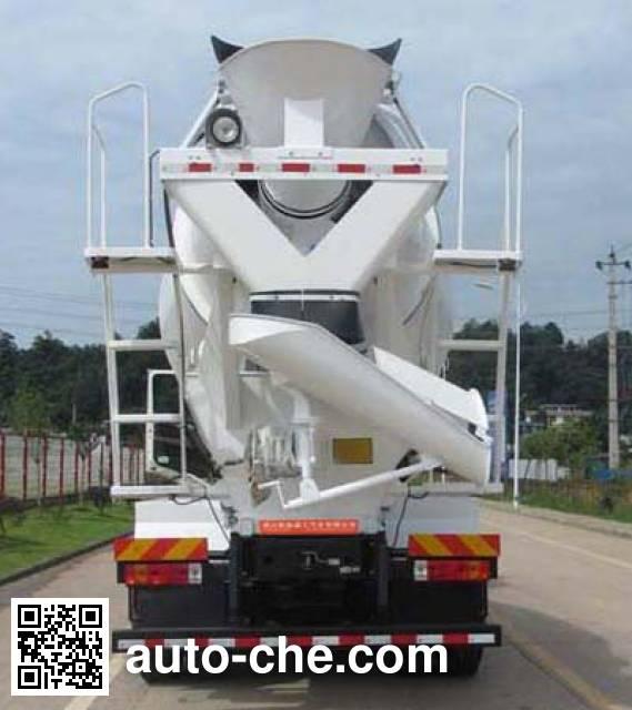 通工牌TG5250GJBCAD混凝土搅拌运输车