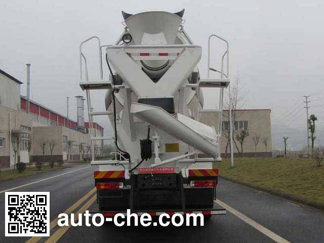 通工牌TG5250GJBZZC混凝土搅拌运输车