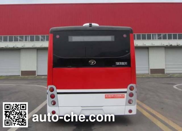 通工牌TG6781BEV1纯电动城市客车
