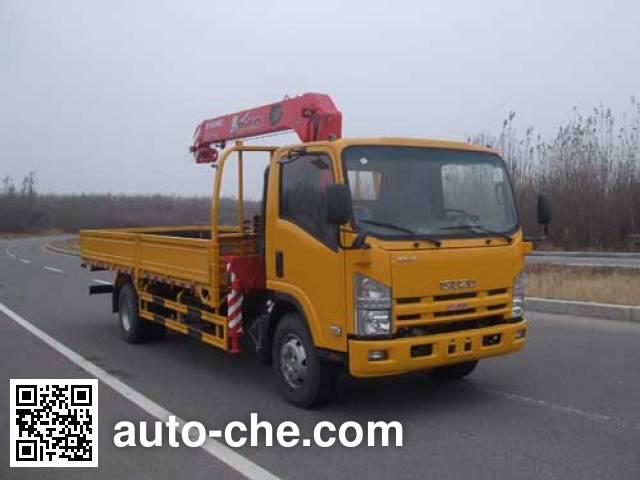UNIC TGH5100JSQ truck mounted loader crane