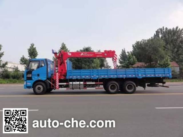 Gusui TGH5250JSQJ4 truck mounted loader crane