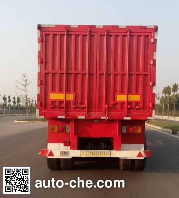 Xinhuachi THD9402XXY box body van trailer