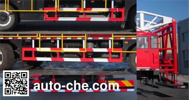 THpetro Tongshi THS5340TXJ4 well-workover rig truck