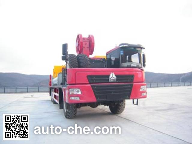 THpetro Tongshi THS5380TXJ5 well-workover rig truck