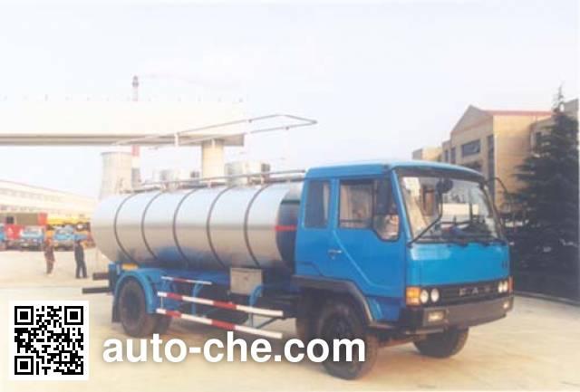 CIMC Tonghua THT5130GYS liquid food transport tank truck