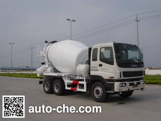 通华牌THT5251GJB混凝土搅拌运输车
