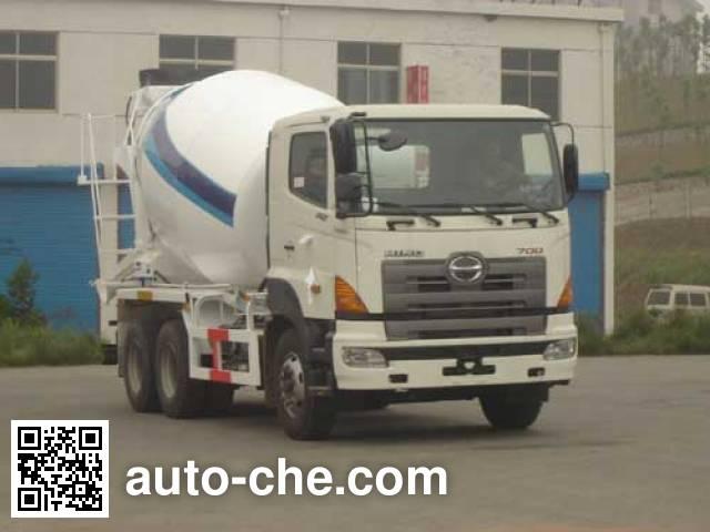 CIMC Tonghua THT5253GJB01 concrete mixer truck