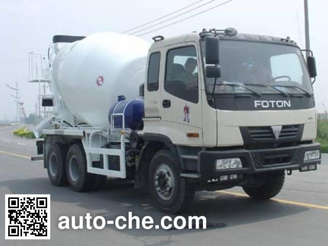 通华牌THT5255GJB01混凝土搅拌运输车