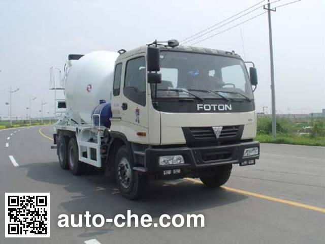 通华牌THT5255GJB02混凝土搅拌运输车