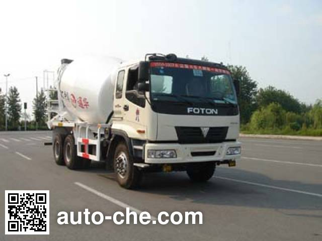 通华牌THT5255GJB04BJ混凝土搅拌运输车