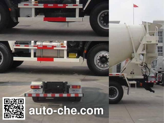 CIMC Tonghua THT5255GJB11A concrete mixer truck