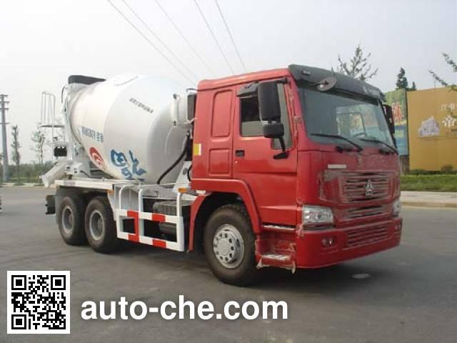 通华牌THT5256GJB02混凝土搅拌运输车