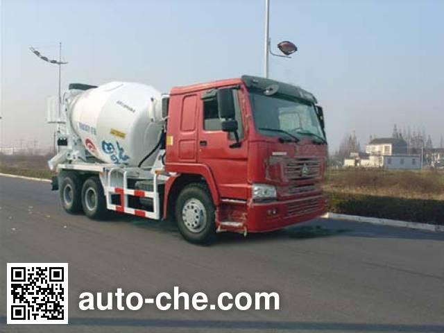 通华牌THT5256GJB03混凝土搅拌运输车