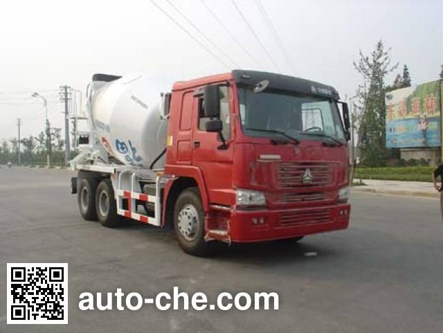 通华牌THT5256GJB04ZZ混凝土搅拌运输车