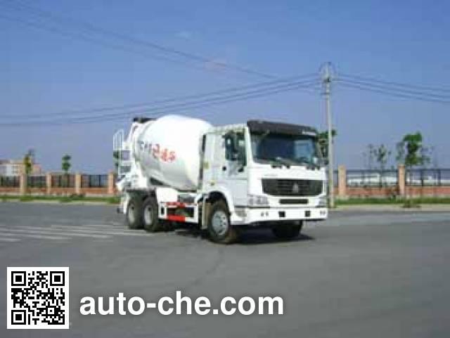 通华牌THT5256GJB07ZZ混凝土搅拌运输车