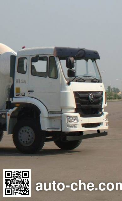 通华牌THT5256GJB11C混凝土搅拌运输车
