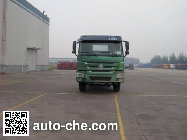 CIMC Tonghua THT5256GJB12B concrete mixer truck