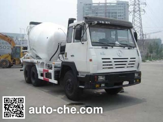 通华牌THT5257GJB03SX混凝土搅拌运输车