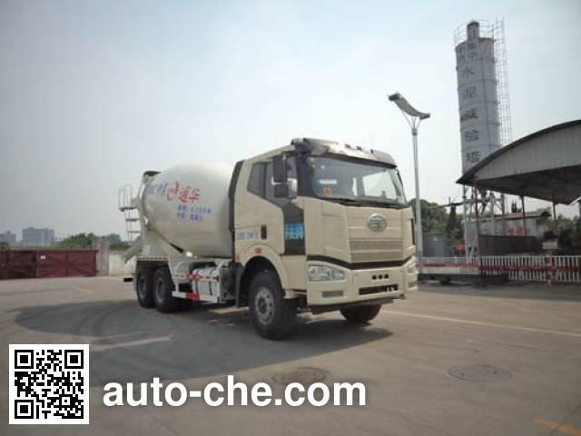 通华牌THT5259GJB12A混凝土搅拌运输车