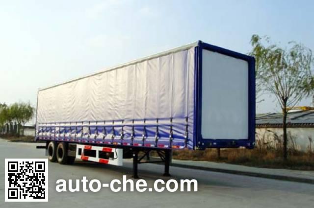 CIMC Tonghua THT9271XXY01 box body van trailer